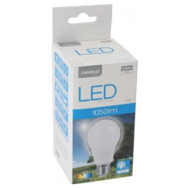 Sfärisk Led - Lampa Omega E27 12W 1050 Lm 2800 K Varmt Ljus från Inget märke