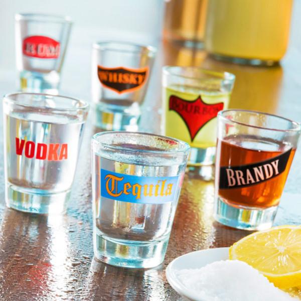 Shotglas Spirituous Beverages 6 St från Inget märke