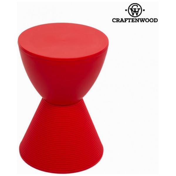 Sittsäck Röd Pall - Printed Samling By Craftenwood från Inget märke