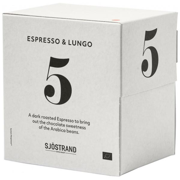 Sjöstrand N°5 Espresso & Lungo Kaffekapslar 100 St från Sjöstrand