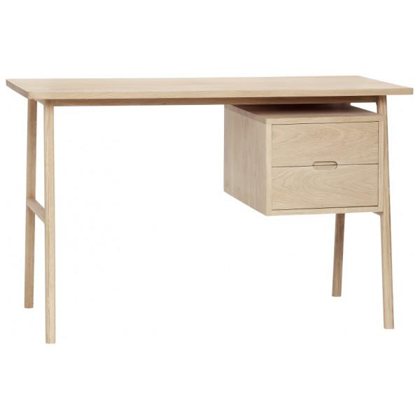 Skrivbord 120 Cm Lådor Ek Hubsch från Inget märke