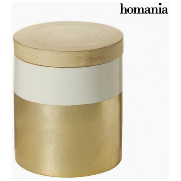 Skrivbord Bambulåda Med Lock By Homania från Inget märke