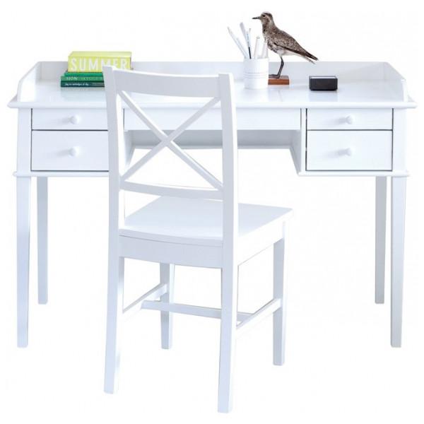 Skrivbord Seaside Fem Lådor Oliver Furniture från Inget märke