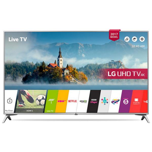 Smart - Tv Lg 60Uj651V 60 Ultra Hd 4K Led Usb X 2 Hdr Wifi Bluetooth Silvrig från Inget märke