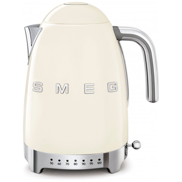Smeg Vattenkokare 1,7 L Med Variable Temperatur Creme från Smeg