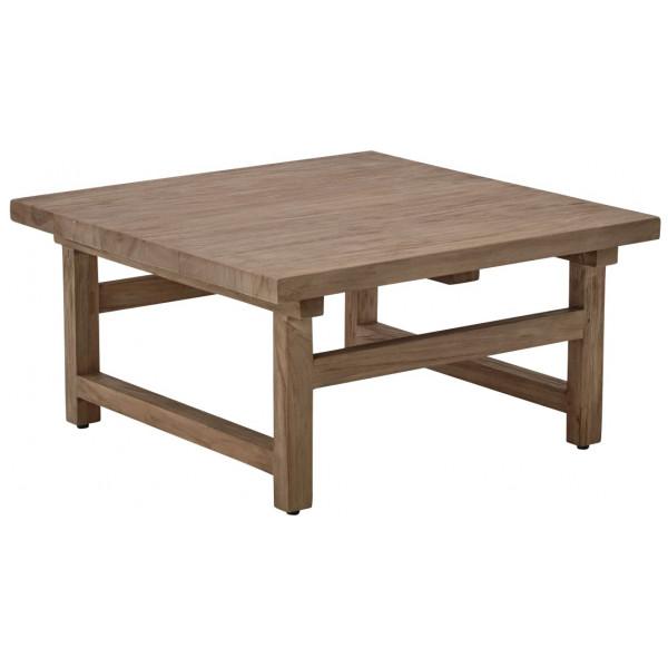 Soffbord Alfred Coffee Table 80 Cm Teak Sika - Design från Inget märke