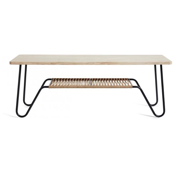 Soffbord Marcel 140X70 Såpad Ek Mavis från Inget märke