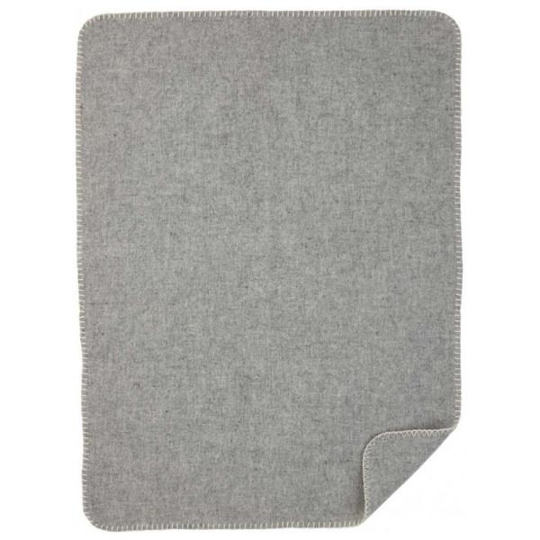 Soft Wool Baby Barnfilt Grey Klippan Yllefabrik från Inget märke