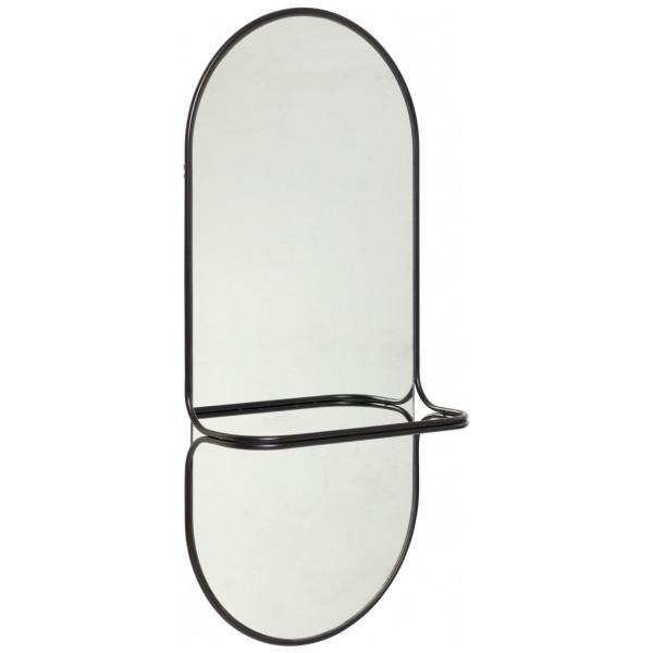 Spegel Oval Klädstång Hubsch från Inget märke