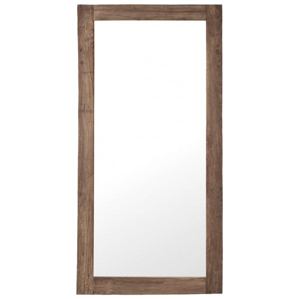Spegel Stor Teak Lucas Sika - Design från Inget märke