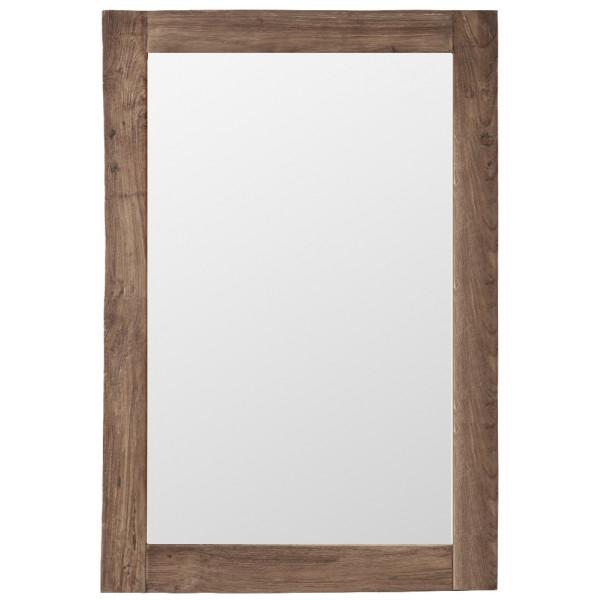 Spegel Teakspegel Lucas 100 X 70 Cm Sika - Design från Inget märke