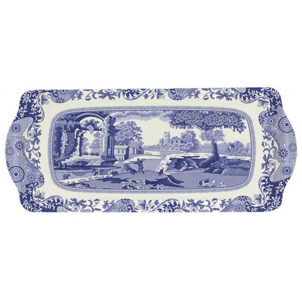 Spode Bricka Blue Italian Smörgåsbricka 38,5X16,5 Cm från Spode