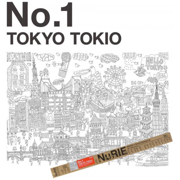 Stockholm Tokyo 119 X 84 Cm Origami från Stockholm tokyo