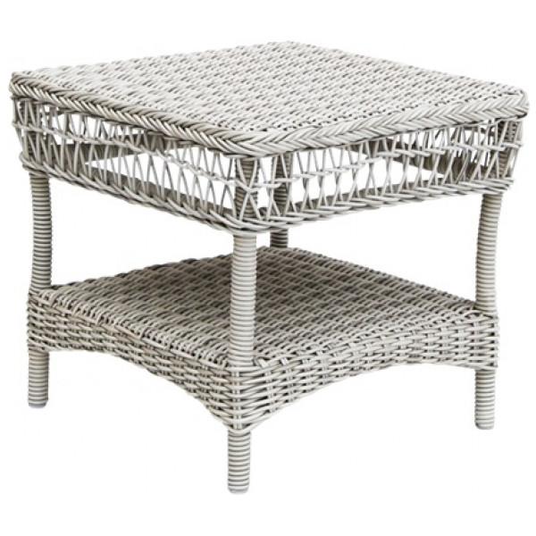 Susy Side Table Sidobord Vintage White Sika - Design från Inget märke