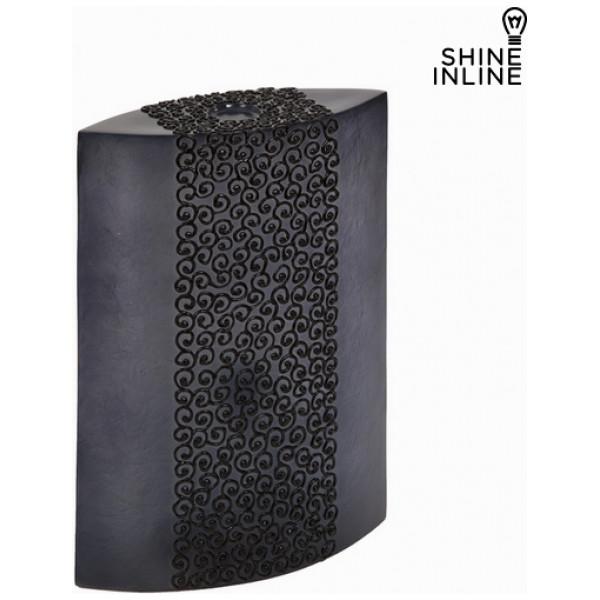 Svart Rektangulär Bordslampa By Shine Inline från Inget märke