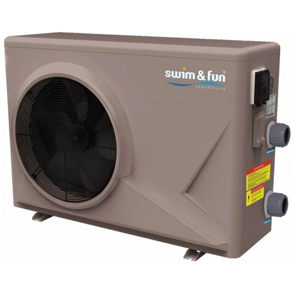 Swim & Fun Pool & Spa Värmepump I Abs Kabinett 12,0 Kw från Swim & fun