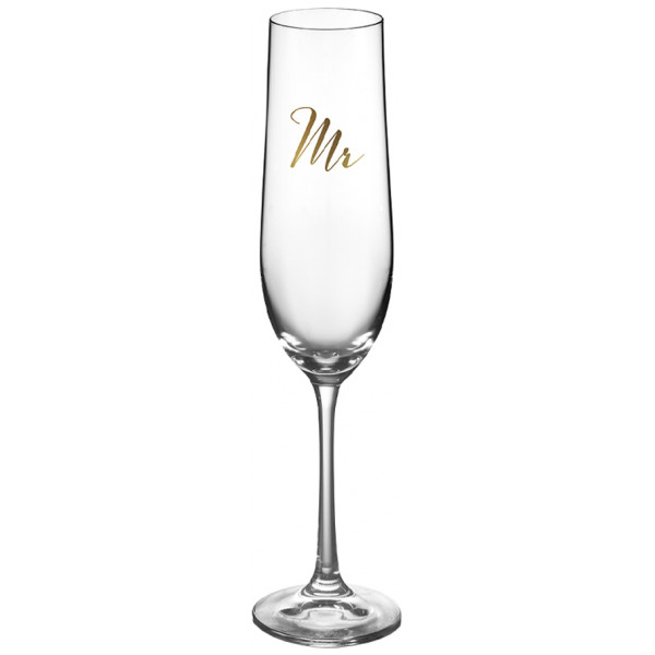 Table Top Stories Champagneglas Mr & Mrs 19 Cl från Table top stories