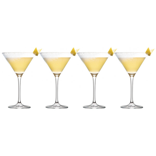 Table Top Stories Drinkglas Bar Martiniglas 22 Cl 4-Pack från Table top stories