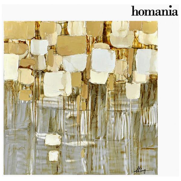 Tavla Abstrakt Aluminiummålning By Homania från Inget märke