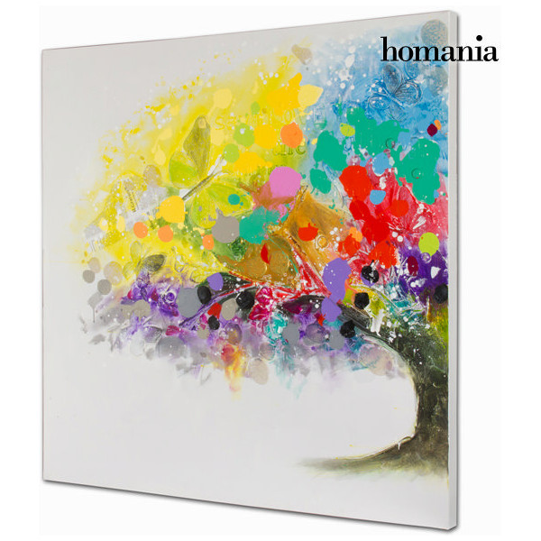 Tavla Oljemålning I Färg Träd By Homania från Inget märke
