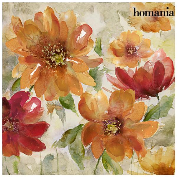 Tavla Röda Blommor By Homania från Inget märke