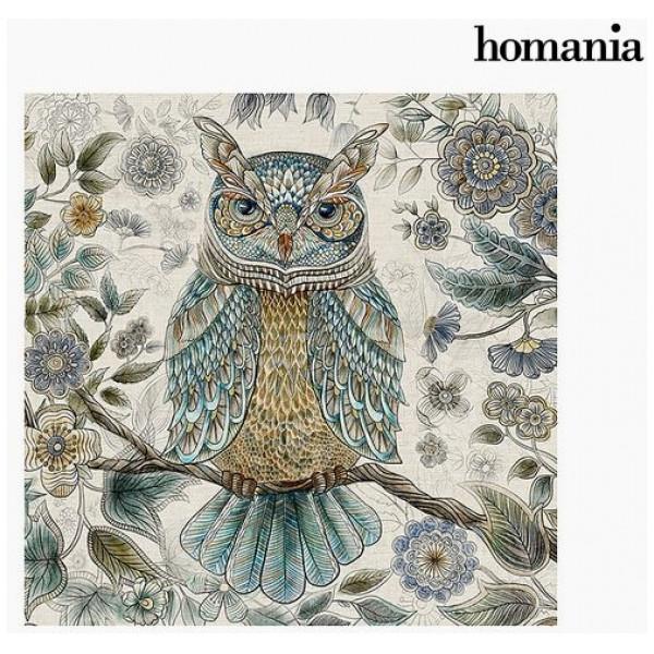 Tavla Uggla 90 X Cm By Homania från Inget märke