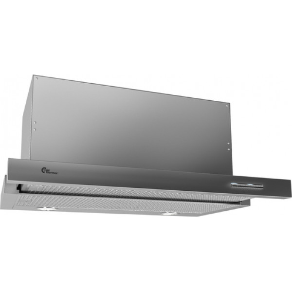 Thermex Slim S4 Plus 60 Rf Utdragbara Köksfläkt - Rostfritt Stål från Thermex