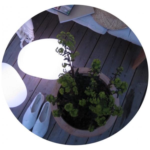 Trädgårdsbelysning Sten Lampa Mellan från Inget märke