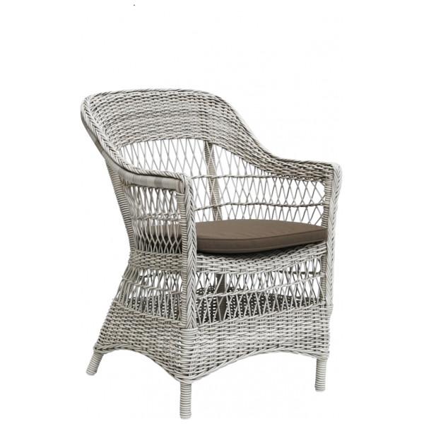 Trädgårdsstol Charlot Vintagevit Sika - Design från Inget märke