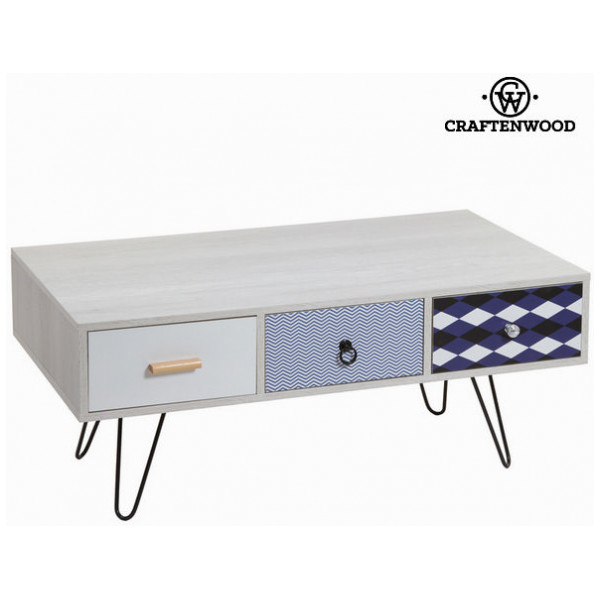 Tv - Bord Med 3 Utdragslådor By Craftenwood från Inget märke