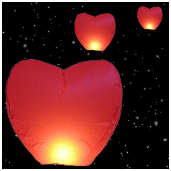 Utomhusbelysning Hjärtformad Svävande Lykta från Inget märke