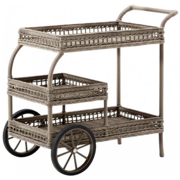 Utomhusmöbel Drinkvagn James Trolley Antique Sika - Design från Inget märke