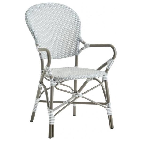 Utomhusmöbel Isabell Alu Arm Chair Taupe Sika Design från Inget märke