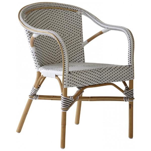 Utomhusmöbel Madeleine Café Armchair White Sika - Design från Inget märke