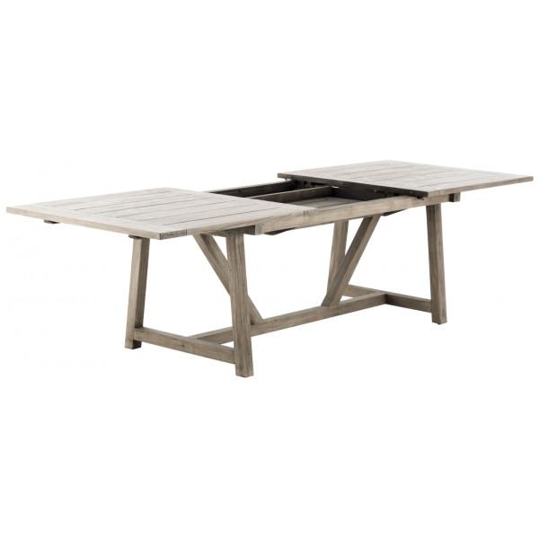Utomhusmöbel Utdragsbord Teak 200 280 Cm George Sika - Design från Inget märke