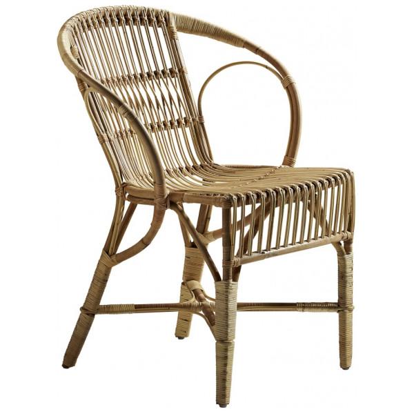 Utomhusmöbel Wengler Dining Chair Natur Sika - Design från Inget märke