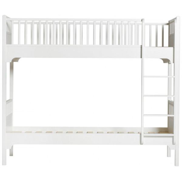 Våningssäng Seaside Lodrät Stege Oliver Furniture från Inget märke
