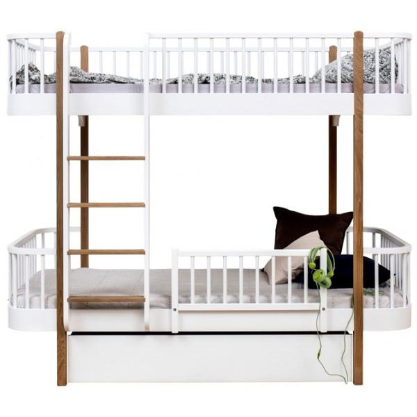 Våningssäng Wood Collection Oliver Furniture från Inget märke