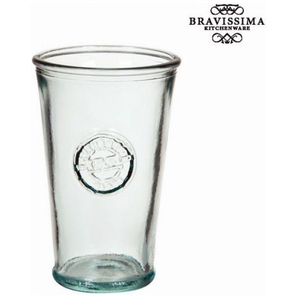 Vas I Återvunnet Glas Hög Konisk - Pure Crystal Kitchen Samling By Bravissima från Inget märke