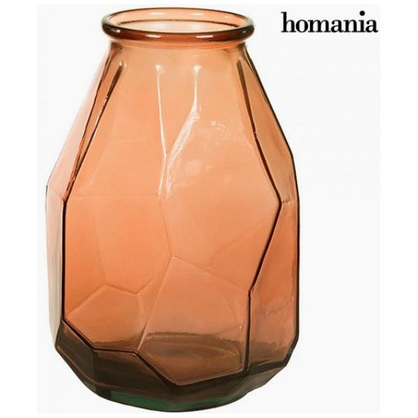 Vaser I Återvinningsglas 25 X 35 Cm - Pure Crystal Deco Samling By Homania från Inget märke