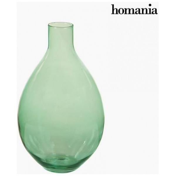 Vaser I Återvinningsglas Green - Crystal Colours Deco Samling By Homania från Inget märke