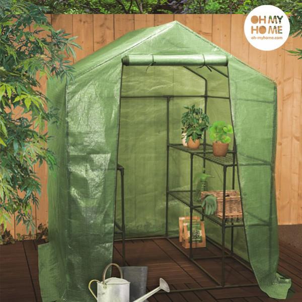 Växthus Med Hyllor Oh My Home Big House från Inget märke