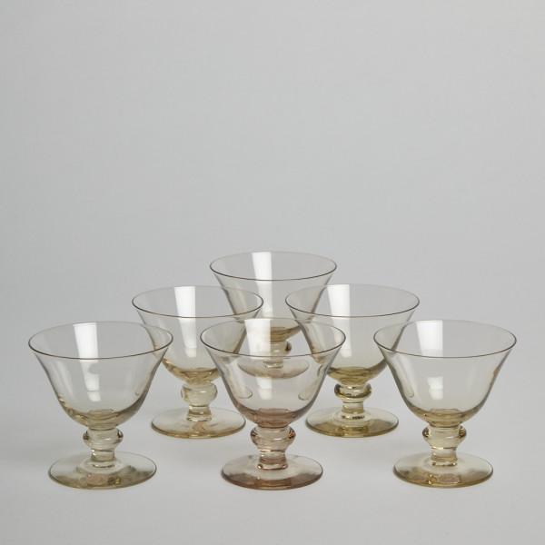 Vintage Avecglas Likörglas Glimma Glasbruk 6 St från Vintage