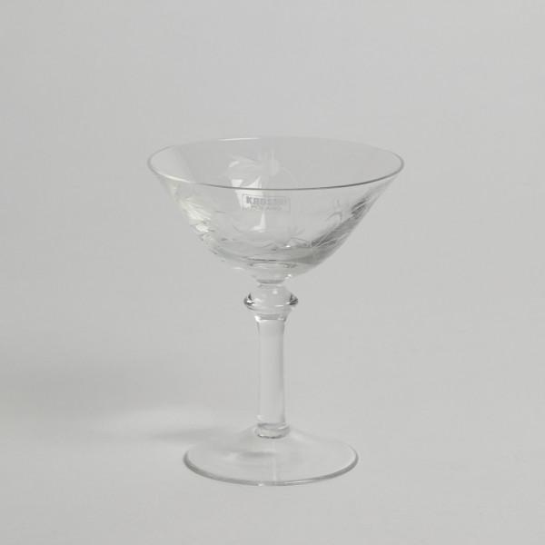 Vintage Avecglas Sherryglas Blåklocka 12 St från Vintage