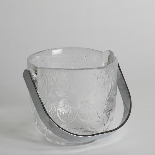 Vintage Ishink I Pressad Glas från Vintage