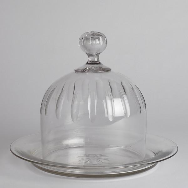 Vintage Såld Ostkupa I Glas från Vintage
