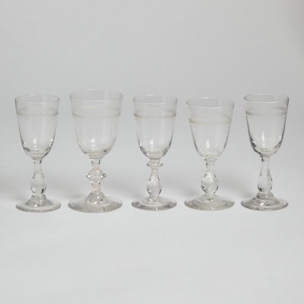 Vintage Snapsglas Rydbergsglas 5 St från Vintage