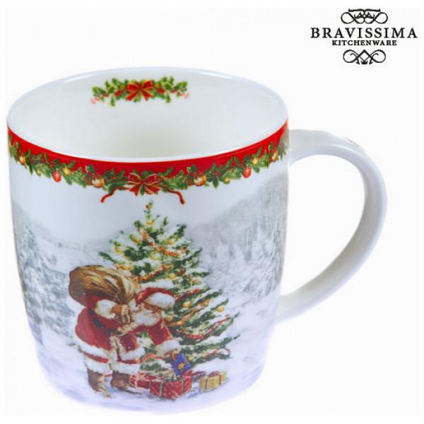 Vit Julmugg I Porslin By Bravissima Kitchen från Inget märke