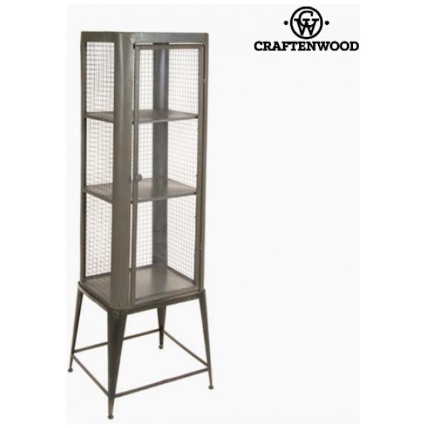 Vitrinskåp Med Glasdörr Järn 46 X 39 148 Cm - Vintage Samling By Craftenwood från Inget märke
