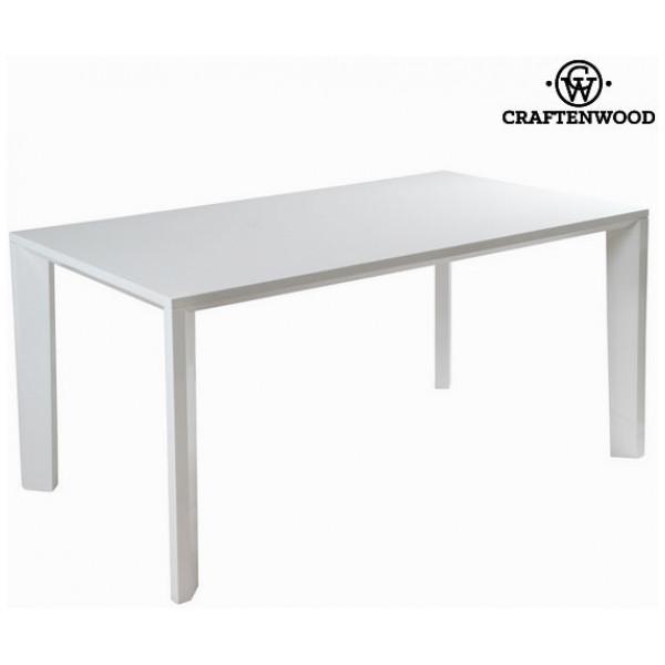 Vitt Matbord - Pure White Samling By Craftenwood från Inget märke